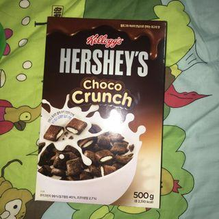 🚚 Hershey's Choco Crunch Cereal
