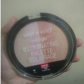 Wet n wild Mega glo illuminating palete eclairage