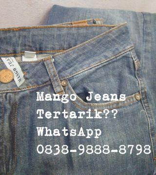 Mango jeans women second