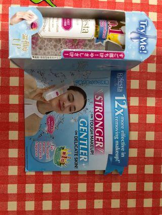 Travel size Bifesta makeup removal