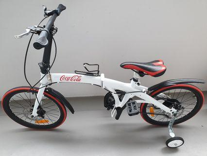 Shimano Coca Cola Foldable Bicycle (limited edition)