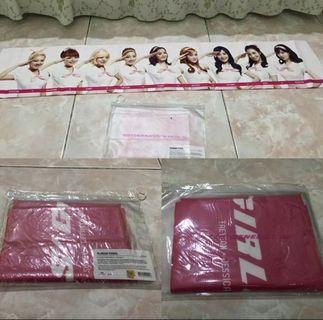 Snsd girls generation slogan towel concert smtown kpop korea