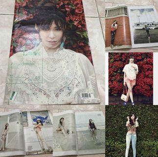 Snsd girls generation tiffany 1st look magazine korea kpop