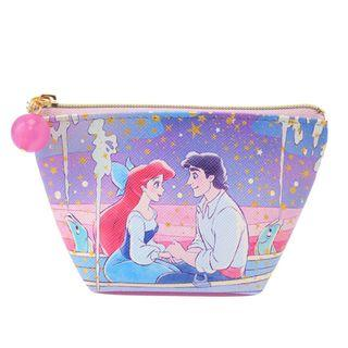 Japan Imported / Japan Disneystore : Pouch series - Little Mermaid Classic Movie Scene Coin Pouch
