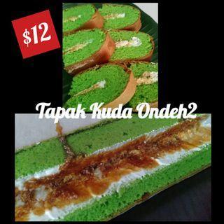 Halal cake rolls