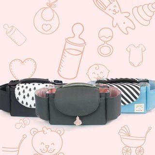 🌹韓國新款防水媽咪包尿布包推車掛包嬰兒車掛包