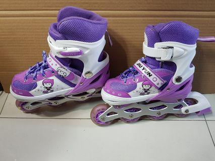 Inline Skates and Guards for kids