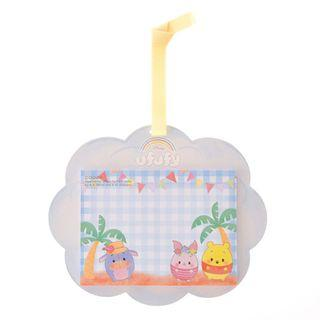 Japan Imported / Japan Disneystore : Memo Collection - Winnie The Pooh & Piglet Ufufy Cloud Memo Pad