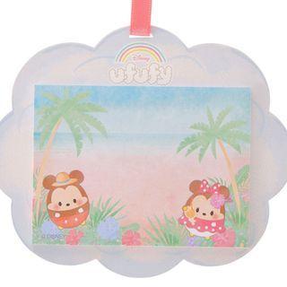 Japan Imported / Japan Disneystore : Memo Collection - Mickey & Minnie Ufufy Cloud Memo Pad