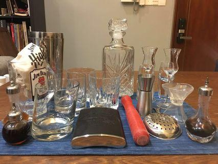 Great collection of barware