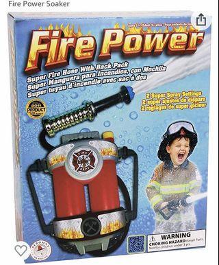 Kids Fire Power (soaker)