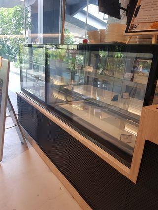 🚚 Cafe set up coffee machine fridge oven display fridge