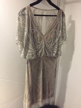 Aidan Mattox Stunning beaded dress, cocktail dress