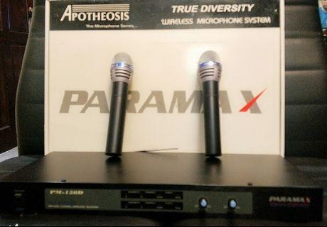 PARAMAX WIRELESS MICROPHONE