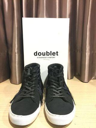 🚚 Doublet 高筒流蘇鞋 25.5cm