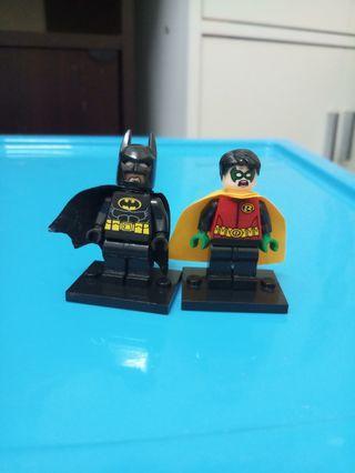 Lego batman robin KO