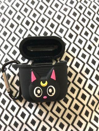 Airpod case silikon motif kucing sailor moon