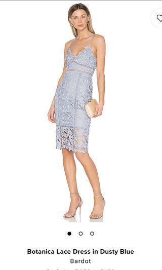 Brand new Bardot blue lace dress
