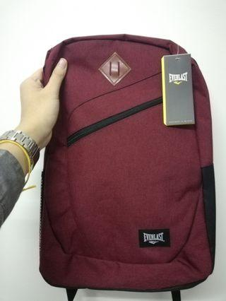 Everlast stylish red backpack
