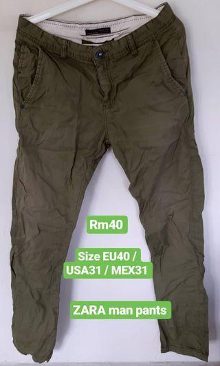 Uniqlo Cargo Pants / ZARA pants