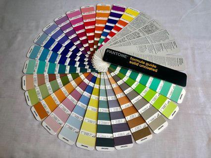 🚚 Pantone Colour Book