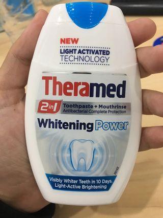 Theramed whitening powder
