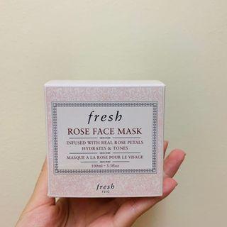 🚚 BNIB Fresh Rose Face Mask