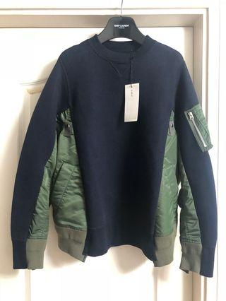 (原價$5100)全新Sacai ma1 sweater men new sz1 unisex