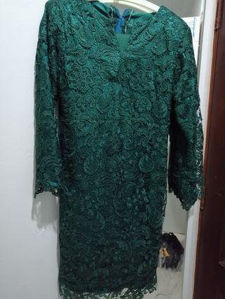 Prada Lace-Baju Kurung Moden