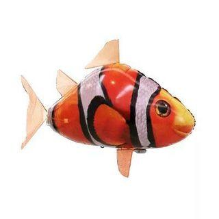 Helium remote control Clown fish and Shark
