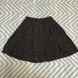 Revival Flower Skirt - Size 10 (Black & White)