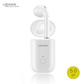 Usams US-LB001 Single In-Ear Wireless Bluetooth 5.0 with Charging Box