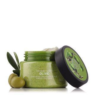 The Body Shop Olive Body Scrub 250ml Original