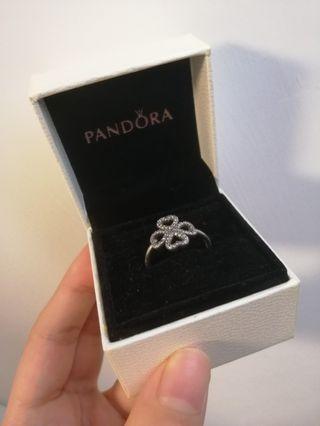 Pandora 潘多拉戒指 四葉草