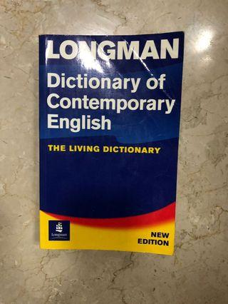 🚚 Longman Dictionary of Comtemporary English