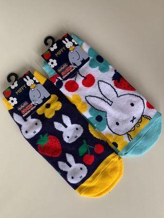 日本Miffy成人棉襪