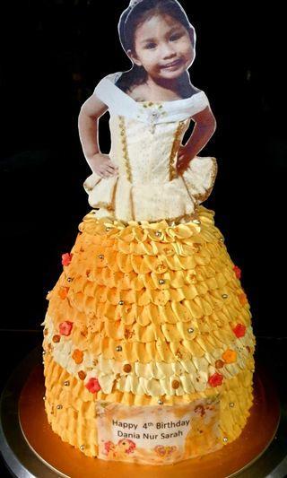 🚚 Princess cake