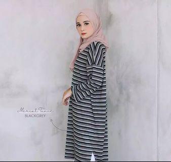 Merial Tunik / fashion muslim / baju wanita / fashion wanita