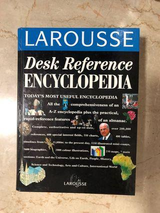 🚚 Desk Reference Encyclopedia - Larousse