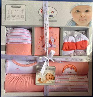 7-pc Baby Gift Set (0-6 months)