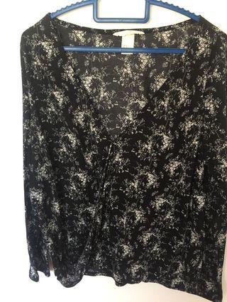H&m kimono style top