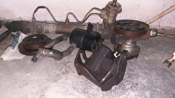 Power steering complete set wira..masuk iswara pun boleh