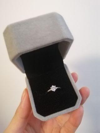 50分莫桑鑽石戒指 #8