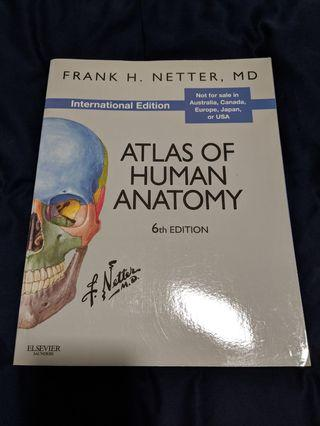 Netter's Atlas of Human Anatomy