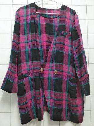 代售古著外套有三個口袋 算很大件