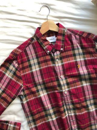 🚚 Farah checkered shirt