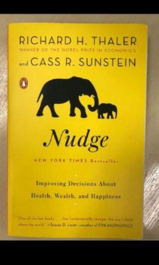 Nudge Book by Richard H Thaler (New York Times Bestseller)