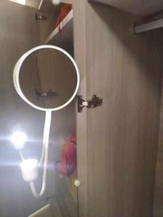 IKEA鏡子吸盤式壁燈se-34381 almhult