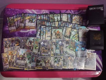 Card fight vanguard two deck and 300+card