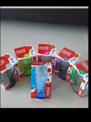 Coca Cola glass each $2